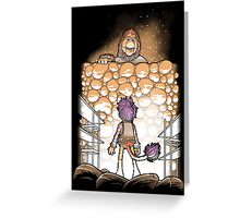 Attack on Fraggle Greeting Card