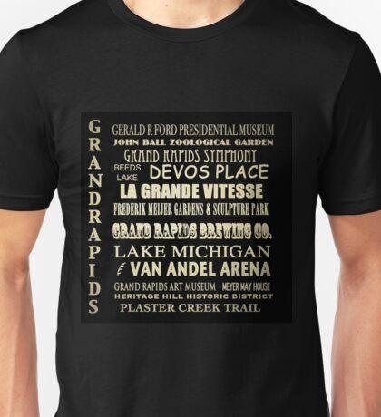 Grand Rapids Michigan Famous Landmarks Unisex T-Shirt