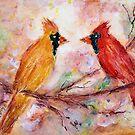 Cardinals by Robin Monroe