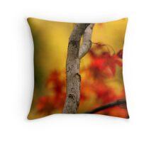 Autumnal colours Throw Pillow