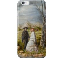 Apparition in a Landscape iPhone Case/Skin