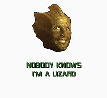 Doctor Who's Madame Vastra - Nobody Knows I'm a Lizard Womens Fitted T-Shirt