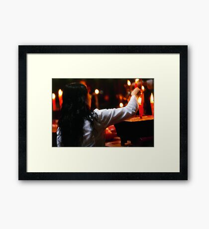 Offering1 Framed Print