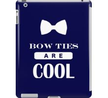Bow Ties Are Cool - Doctor Who iPad Case/Skin