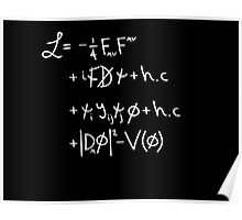 Universe Lagrangian Poster