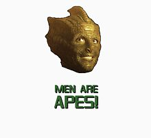 Doctor Who's Madame Vastra - Men are Apes! Womens Fitted T-Shirt