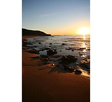 Sunrise at Bells Beach Photographic Print