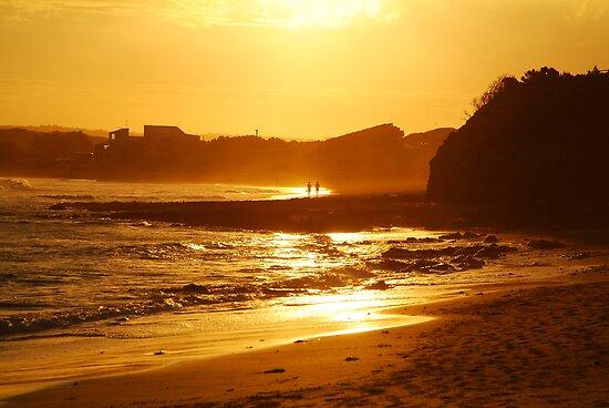 Sunset, Torquay Surf Beach,Great Ocean Road by Joe Mortelliti
