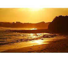 Sunset, Torquay Surf Beach,Great Ocean Road Photographic Print