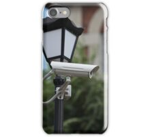 Camera outdoor surveillance iPhone Case/Skin