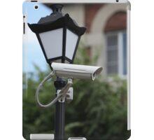 Camera outdoor surveillance iPad Case/Skin