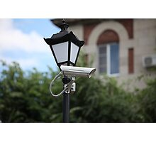 Camera outdoor surveillance Photographic Print