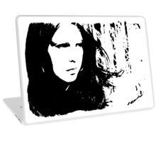 Sad Portrait Laptop Skin