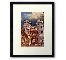 Norman Gate Framed Print