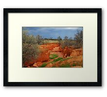 Natures Colours,OutbackAustralia Framed Print