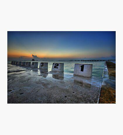 Merewether Ocean Baths at Dawn 1 Photographic Print