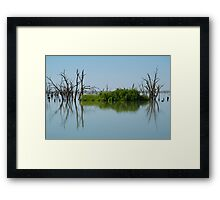 Lake Victoria,Outback NSW Framed Print