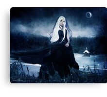 The Bitter Cold Canvas Print