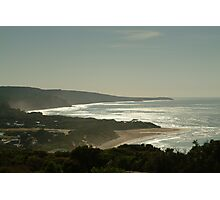 Harsh Light Anglesea,Great Ocean Road Photographic Print