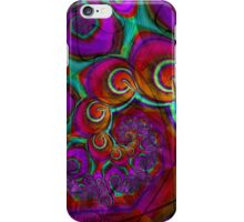 Psychedelic Grunge Frac iPhone Case/Skin