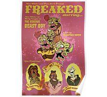 FREAKED! Art Print Poster