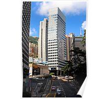 HK Central Buildings III - Hong Kong. Poster