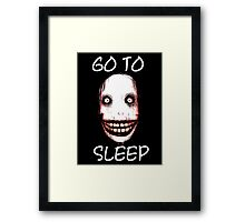 Jeff the Killer Framed Print