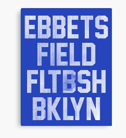 Ebbets Field - Brooklyn Canvas Print