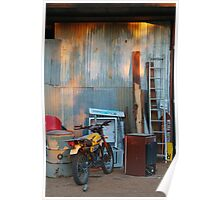 By The Shed,Outback S.A. Poster