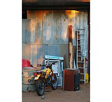 By The Shed,Outback S.A. Photographic Print