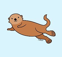 Sea Otter by zoel