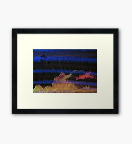 WDV - 455 - Hand and Home Framed Print
