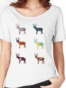 Deer 3 Women's Relaxed Fit T-Shirt