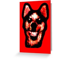 Smile Dog (CreepyPasta) Greeting Card