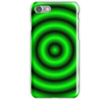 Green 3D Hoops iPhone Case/Skin