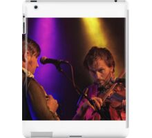 Bellowhead on stage  iPad Case/Skin