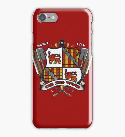 The Zed Word iPhone Case/Skin