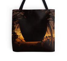 spider sunset Tote Bag