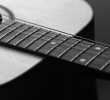Guitar Strings by Rebecca  Nicolandos