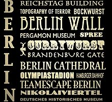 Berlin Germany Famous Landmarks by Patricia Lintner