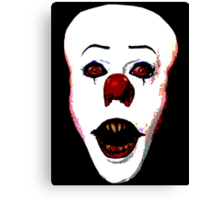 Pennywise the Clown Canvas Print