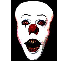 Pennywise the Clown Photographic Print