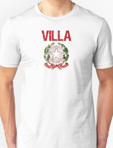 Villa Surname Italian T-Shirt