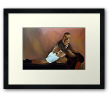 Chewbacca and the Timeless Art of Seduction Framed Print