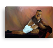 Chewbacca and the Timeless Art of Seduction Canvas Print