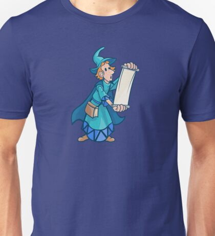Magician reading scroll Unisex T-Shirt