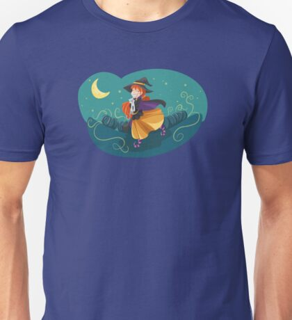 Funny witch Unisex T-Shirt