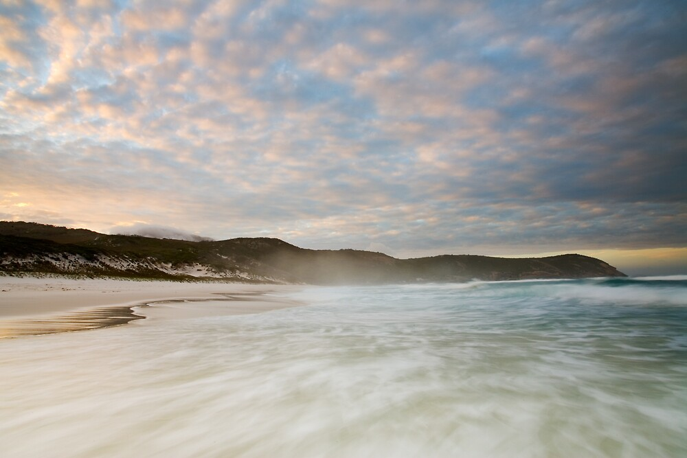 Squeeky Beach dawn by Anthony Begovic