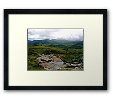 On the Way to Craig Varr Framed Print