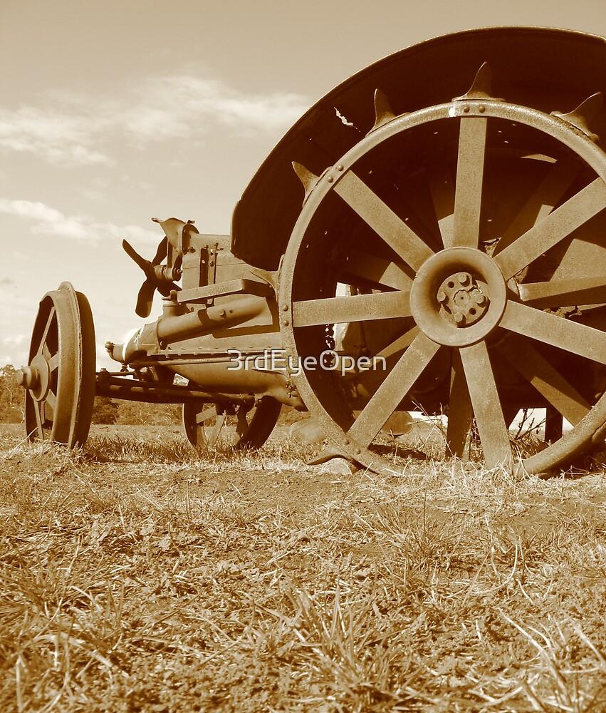 Rusty Wheels by 3rdEyeOpen